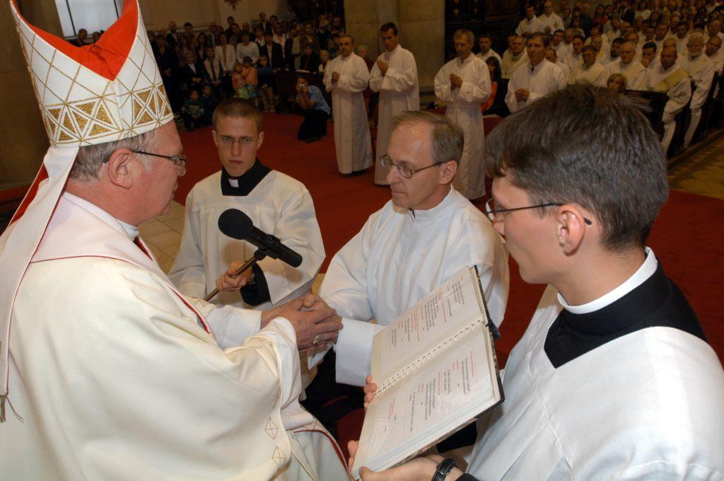Slib poslušnosti, foto: P. Zuchnický