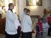 Vstupní liturgický průvod...