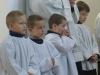 První oficiální služba při oltář