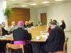 Otec biskup hovoří na hlavní téma setkání