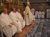 Svěcení přijímali svěcenci z rukou brněnského biskupa Vojtěcha Cikrleho