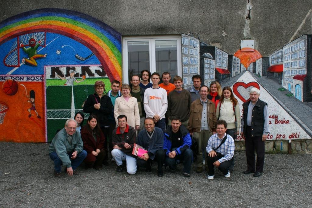 Společná fotografie ze setkání