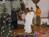 Uvítání vzácné návštěvy otcem Andrzejem...