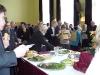 Občerstvení a přátelská setkání udělaly za slavnostní mší svatou příjemnou tečku...