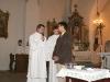 Marku Michaeli, věříš v Boha Otce, Syna i Ducha svatého? ... Věřím!...Chceš být v této víře pokřtěn? ... Ano!