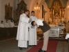 Marku Michaeli, já tě křtím ve jmenu Otce i Syna i Ducha svatého