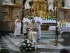 Slavnostní bohoslužbě předsedá samozřejmě otec biskup František...
