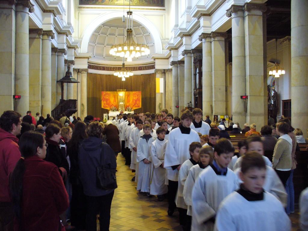 Slavnost sice končí, ale příští rok se znovu v katedrále setkáme!
