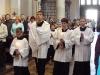 Přichází liturgický průvod...