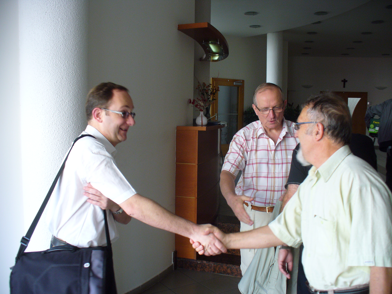 P. Václav Tomiczek byl naším dnešním hostem